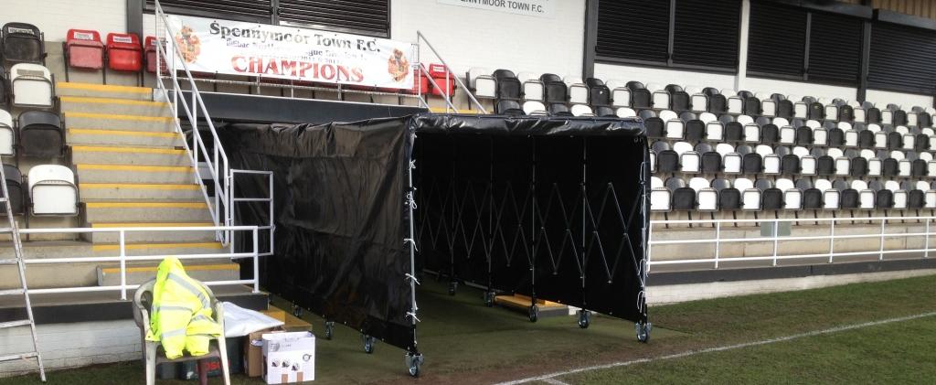 Black Football Tunnel