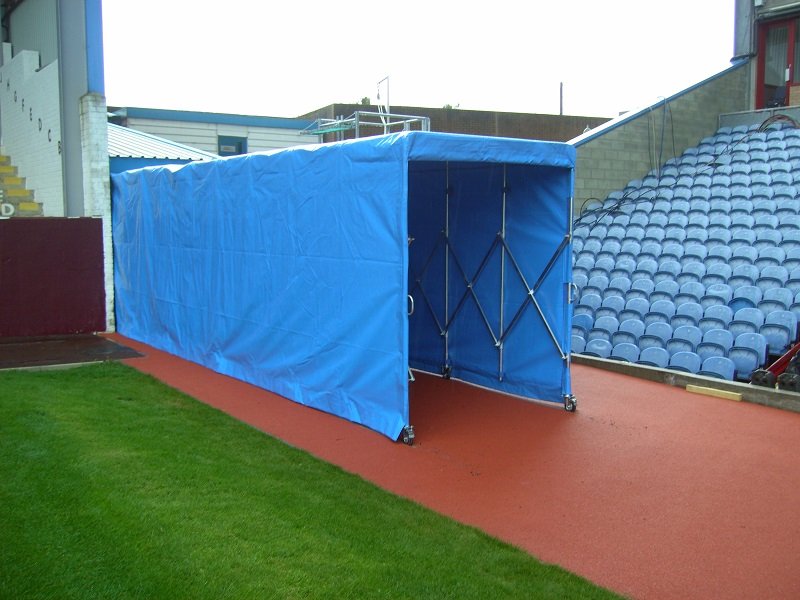Blue Players Tunnel