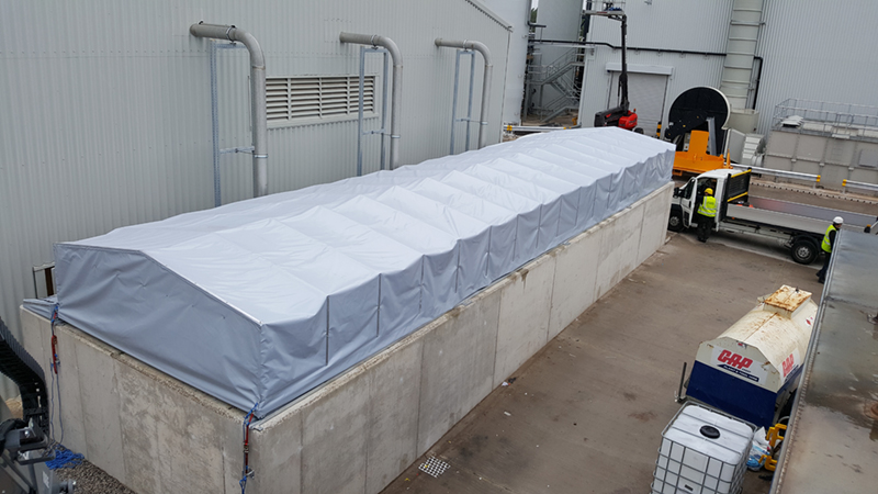 Building Tunnel Cover