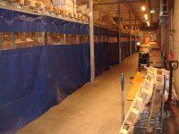 Blue PVC Racking Full Cover