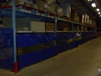 Half Blue Racking Covers