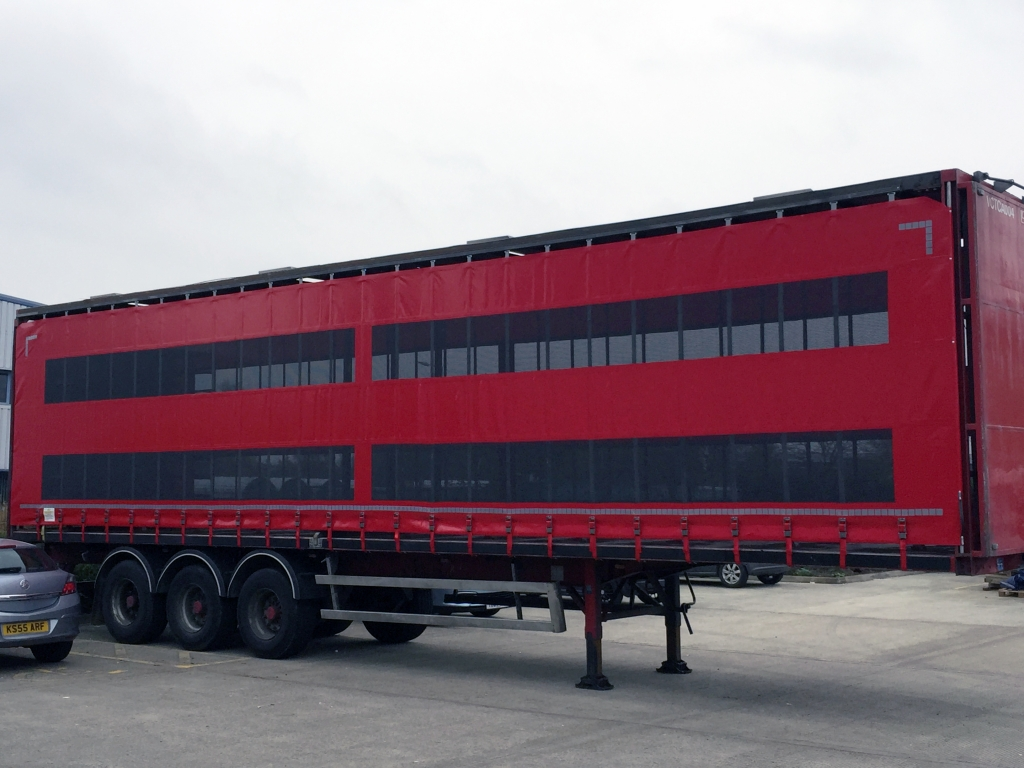 Side Netting Haulage Cover